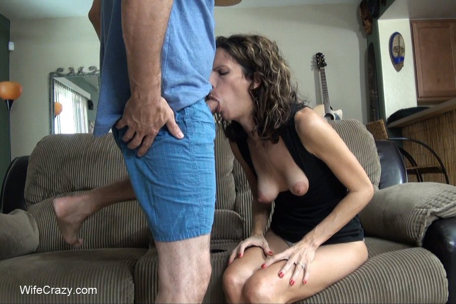 Wife try anal